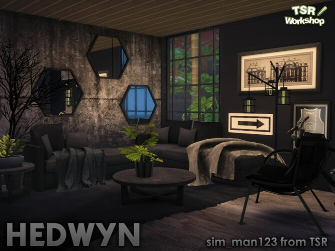 Hedwyn Living Room by sim man123 at TSR image 7314 670x503 Sims 4 Updates