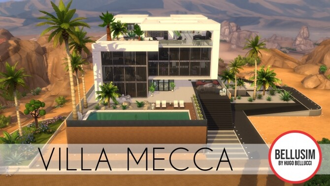 Villa Mecca by Bellusim at Mod The Sims image 7315 670x377 Sims 4 Updates