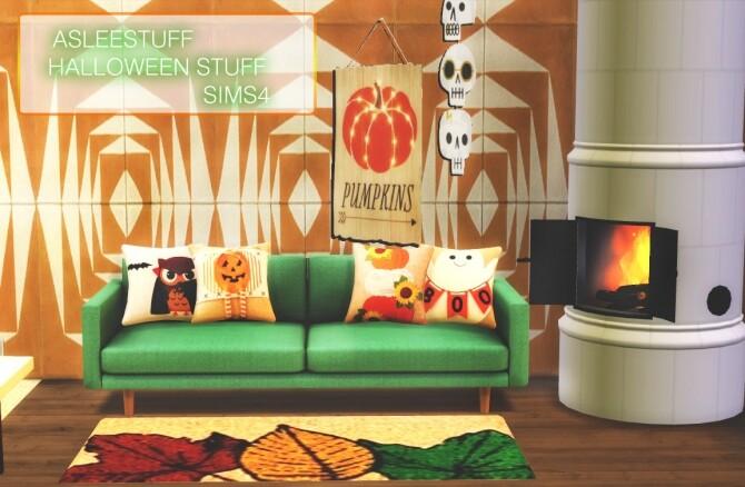 Sims 4 HALLOWEEN SET at Aslee Stuff