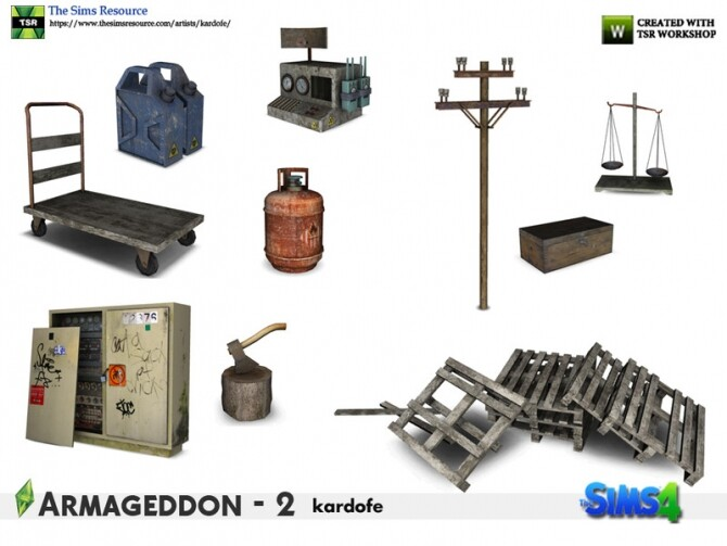 Sims 4 Armageddon 2 set by kardofe at TSR
