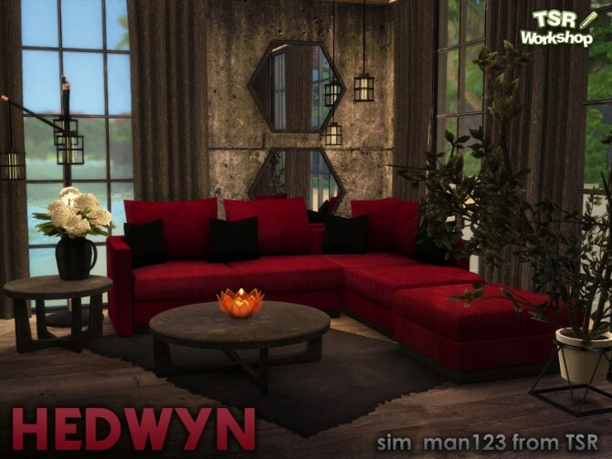 Hedwyn Living Room by sim man123 at TSR image 7514 670x503 Sims 4 Updates