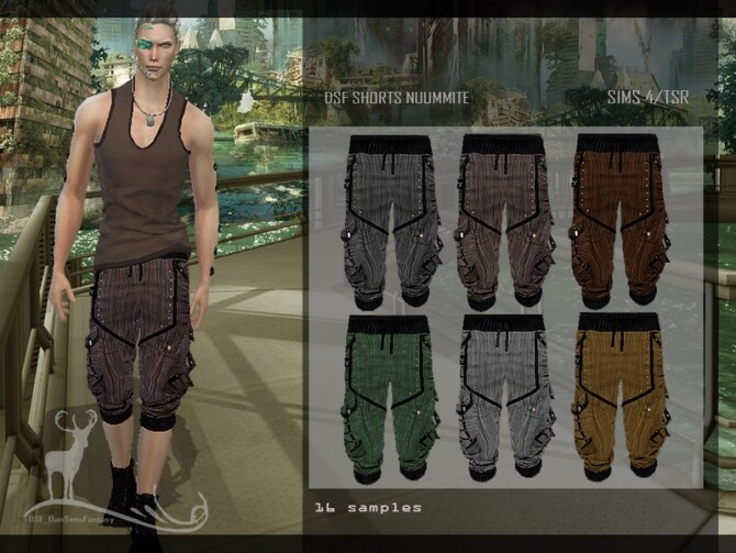 DFS SHORTS NUUMMITE by DanSimsFantasy at TSR image 7712 670x503 Sims 4 Updates