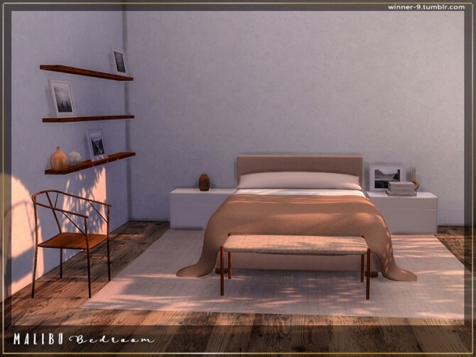 Malibu Bedroom by Winner9 at TSR image 7713 670x503 Sims 4 Updates