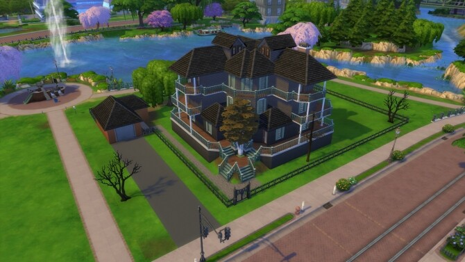 Sims 4 House Of Fallen Trees by Brainl3ss at Mod The Sims