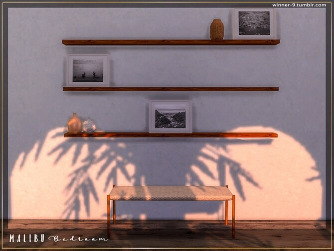 Malibu Bedroom by Winner9 at TSR image 7813 670x503 Sims 4 Updates