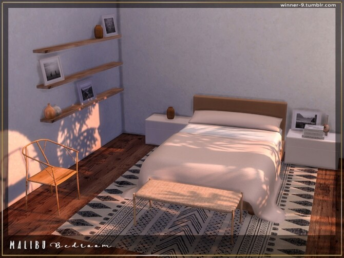 Malibu Bedroom by Winner9 at TSR image 7913 670x503 Sims 4 Updates