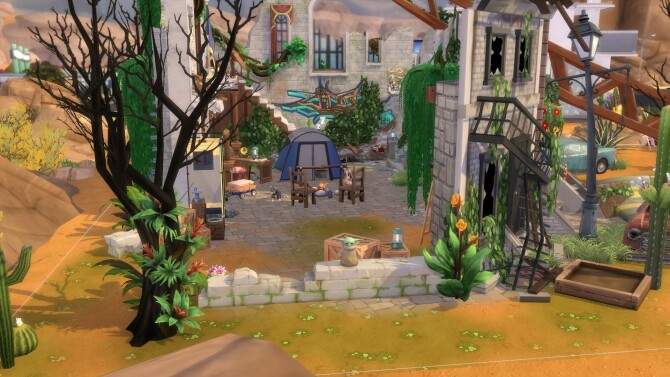 Apocalyptic Ruin by ezeliastarpuff at Mod The Sims image 7915 670x377 Sims 4 Updates