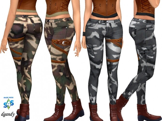 Sims 4 Apocalypse Jeans 20200511 by dgandy at TSR
