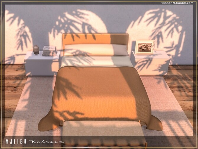 Malibu Bedroom by Winner9 at TSR image 8013 670x503 Sims 4 Updates