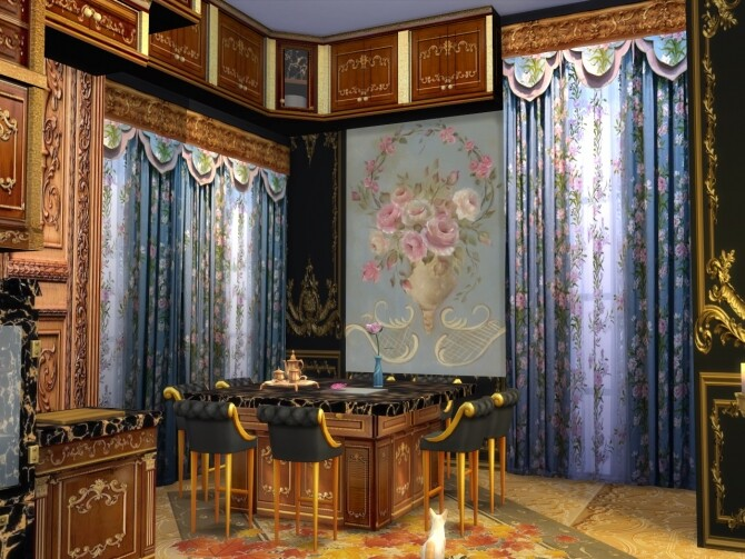 Sims 4 Deluxe Curtains Set 3 at Anna Quinn Stories