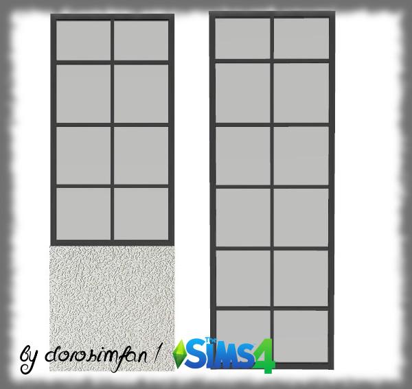 Sims 4 Decorative partition walls by Dorosimfan1 at Sims Marktplatz