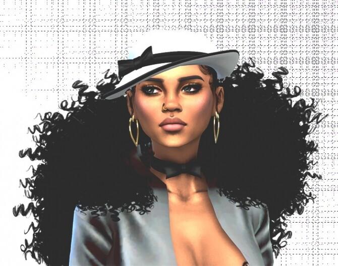 Sims 4 Maria Eleonore Leon by Mich Utopia at Sims 4 Passions
