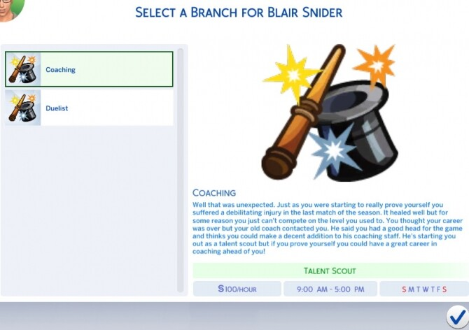 Sims 4 Magic Dueling Career by Tag727 at Mod The Sims