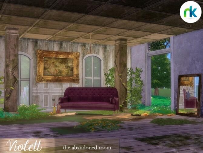 Sims 4 Violett abandoned room by nikadema at TSR