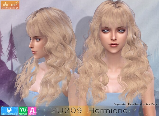 YU209 Hermione hair (P) at Newsea Sims 4 image 881 670x491 Sims 4 Updates