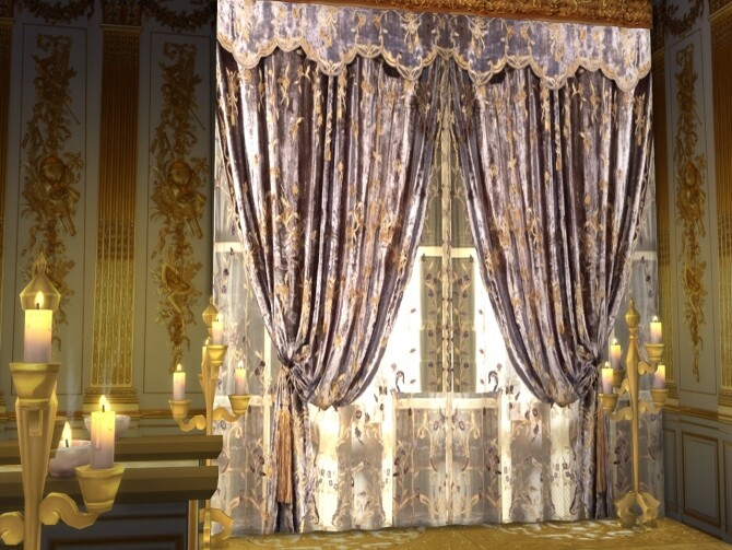 Deluxe Curtains Set 3 at Anna Quinn Stories image 883 670x503 Sims 4 Updates