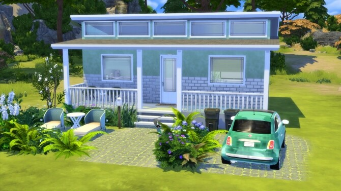 Sims 4 LITTLE GREEN HOUSE at MODELSIMS4