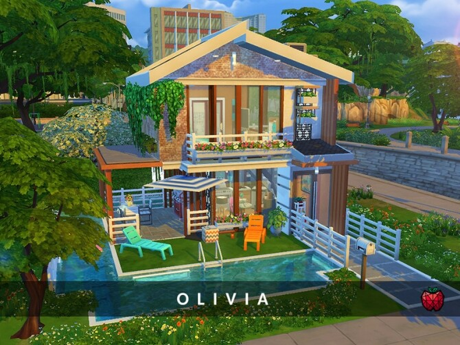 Olivia tiny home no cc by melapples at TSR image 9102 670x503 Sims 4 Updates