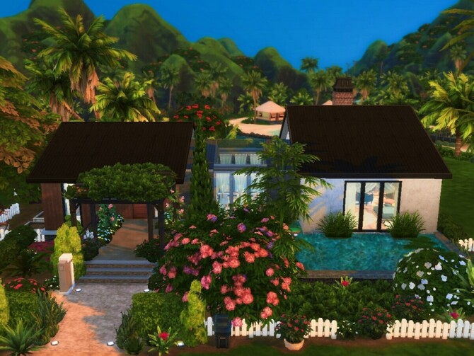 Heavenly Pearl home by Alissnoele at TSR image 9103 670x503 Sims 4 Updates