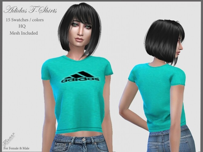 Sporty Tshirts by pizazz at TSR image 919 670x503 Sims 4 Updates
