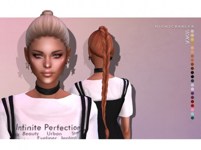 Legacy hair by Nightcrawler at TSR image 9220 670x503 Sims 4 Updates
