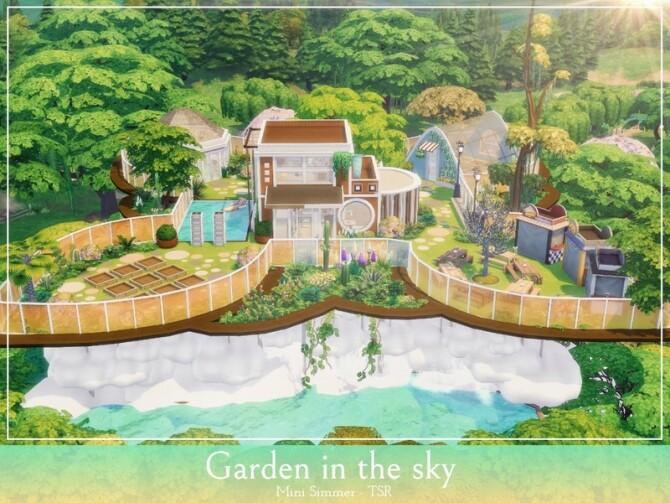 Garden in the sky by Mini Simmer at TSR image 928 670x503 Sims 4 Updates