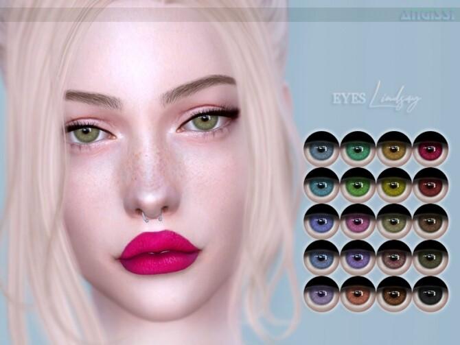 Sims 4 Lindsay EYES by ANGISSI at TSR