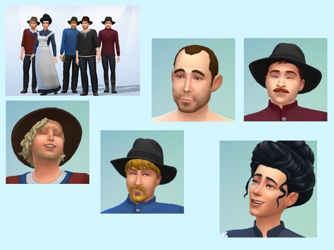 Sims 4 The railroad workers at KyriaT's Sims 4 World