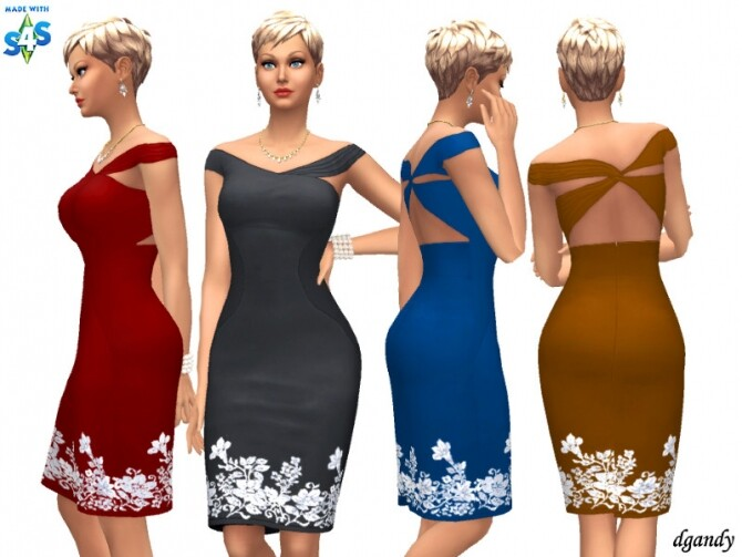 Sims 4 Dress 20200514 by dgandy at TSR