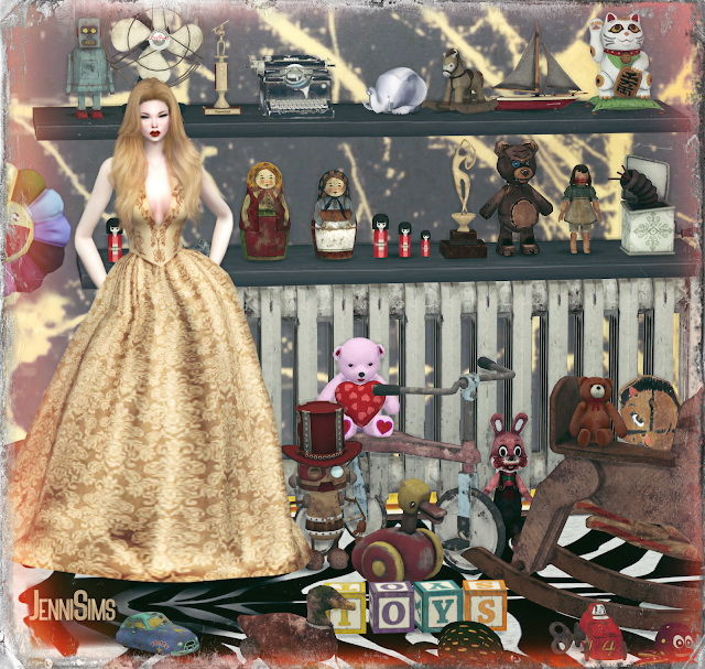 CLUTTER DECORATIVE 33 ITEMS at Jenni Sims image 9415 Sims 4 Updates