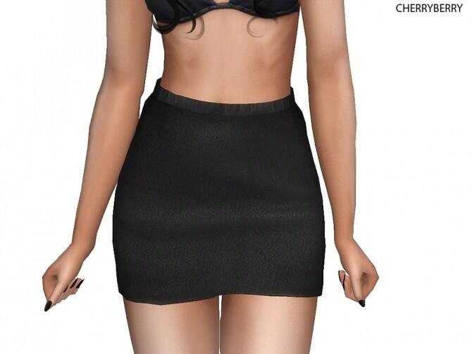 Sims 4 Mini skirt at Cherryberry