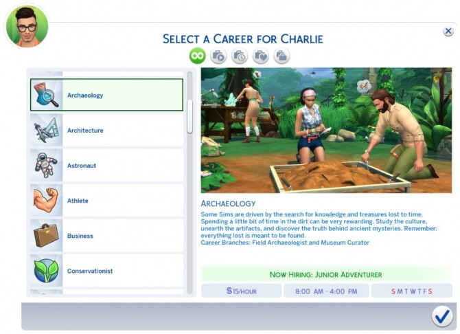 Sims 4 Archaeology Career by Retr0 at Mod The Sims