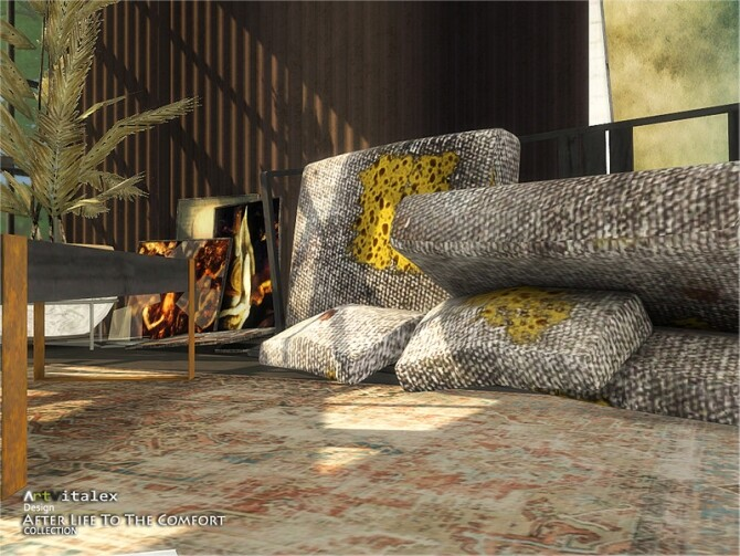 Sims 4 After Life To The Comfort by ArtVitalex at TSR