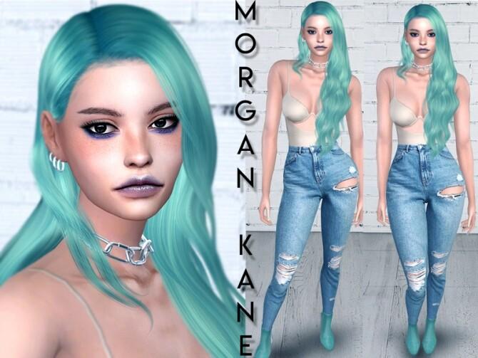 Sims 4 Morgan Kane by icencetyy at TSR
