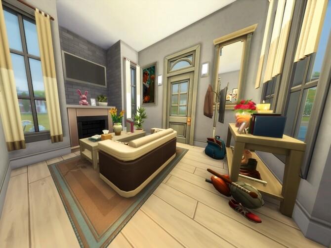 Sims 4 42 Hope Street house by simbunnyRT at Mod The Sims