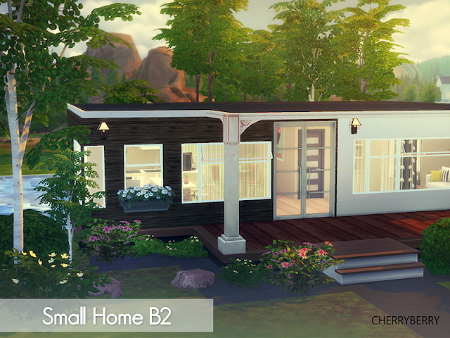 Sims 4 Small Home B2 at Cherryberry