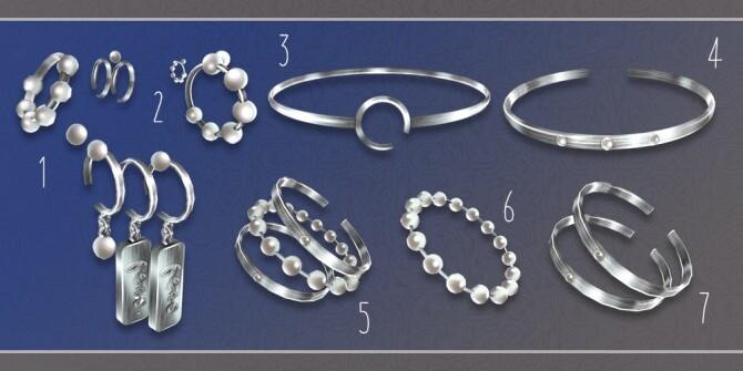 Accessories set N1 at Soloriya image Accessories set N1 by Soloriya 4 670x335 Sims 4 Updates
