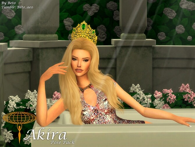 Sims 4 Akira Pose Pack by Beto ae0 at TSR