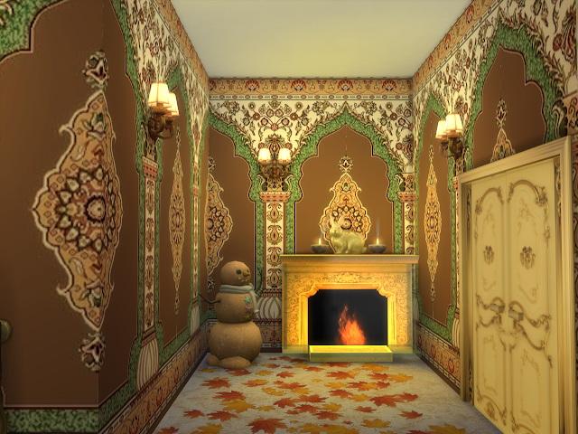 Sims 4 Arabic Style Walls at Anna Quinn Stories
