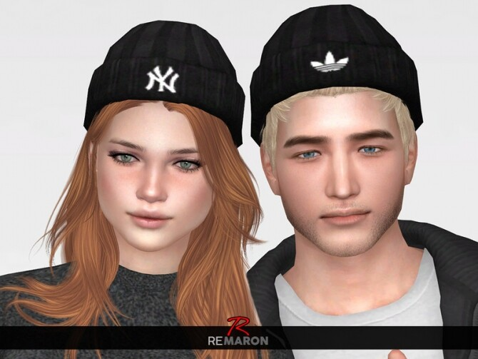 Sims 4 Beanie for both gender by remaron at TSR