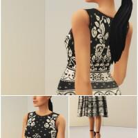 Black-Jacquard-Stretch-Midi-Dress-by-Rusty-4