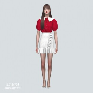 Blouse-With-Frill-Mini-Skirt-3