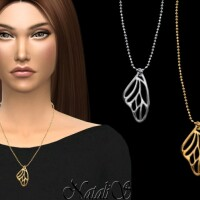 Butterfly-wing-necklace