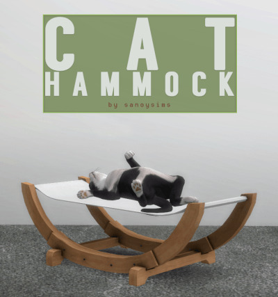 Cat-Hammock-TS4-by-Sanoy-Sims