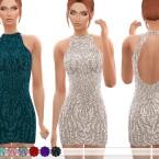 Cutout-Back-Beaded-Mini-Dress-by-ekinege