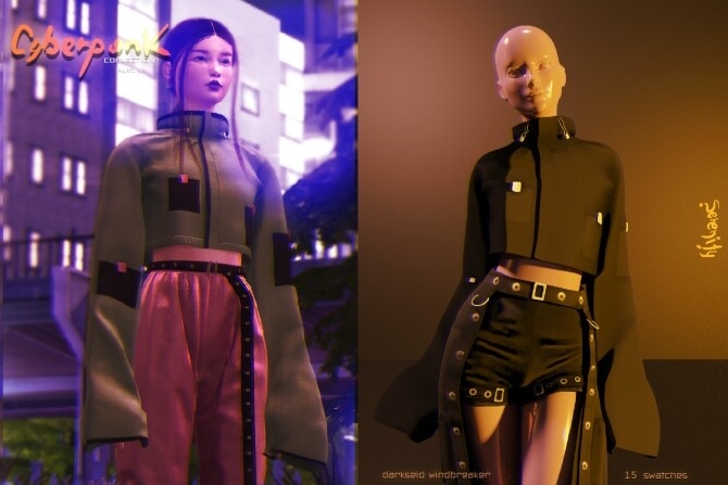 Cyberpunk Collection PART 1 at SERENITY image Cyberpunk Collection PART.1 by Serenity 5 670x447 Sims 4 Updates