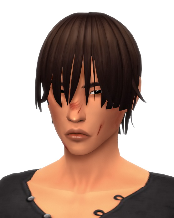 Sims 4 Erased male hairstyle at Simandy
