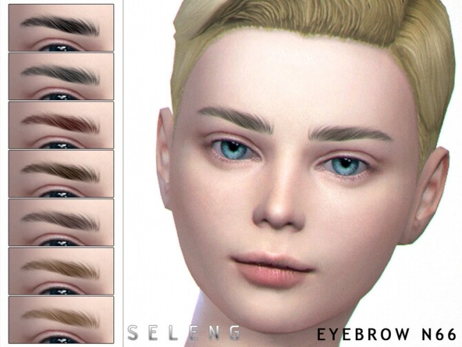 Eyebrows N66 by Seleng at TSR image Eyebrows N66 by Seleng 670x503 Sims 4 Updates