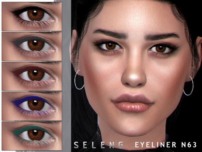 Sims 4 Eyeliner N63 by Seleng at TSR