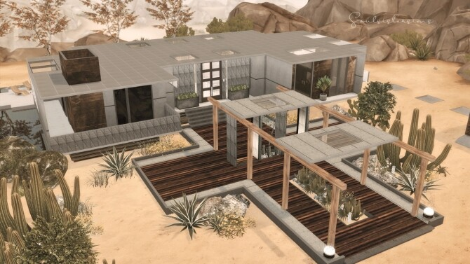 Ficus Modern Fam. House at SoulSisterSims image Ficus Modern Family House Sims 4 670x377 Sims 4 Updates